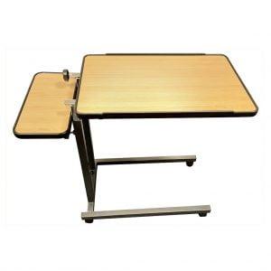 Bedleestafel licht houtkleurig