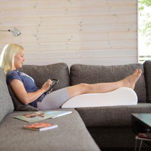 Benenkussen Sissel® Veno® Relaxatiekussen Venenkussen inclusief ivoorkleurige overtrek voorbeeld