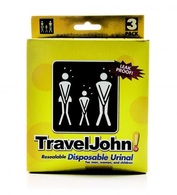 Urinoir wegwerp Travel John