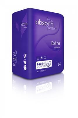 Absorin Comfort Finette in verschillende maten per pak of grootverpakking