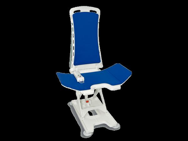 Badlift Bellavita 2G, merk Drive lichtgewicht luxe in kleur blauw