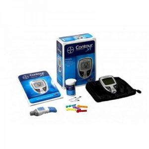 Bloedglucosemeter Contour XT Diabetes startpakket met alle componenten