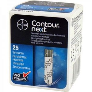 Contour® XT NEXT teststrips zijn geschikt voor de Contour® XT bloedglucosemeter