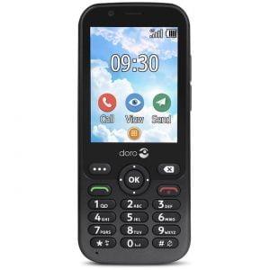 Doro 7010 4g telefoon nieuw model in grafiet