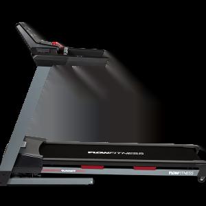 Runner DTM2000i van het merk Flow Fitness met snelheid tot 18 km per uur