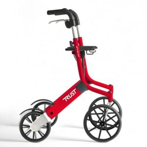 Rollator Let's Go Out, 6.4 kg - lichtgewicht met grote wielen
