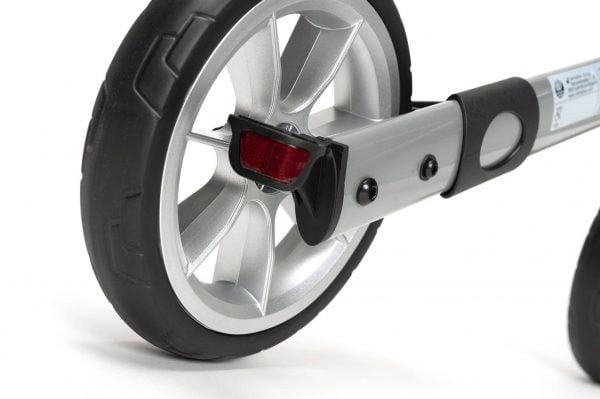 Rollator Quadri light wiel met reflector
