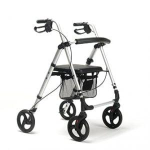 Vermeiren rollator Eco-Plus in kleur grijs