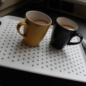 StayPut dienblad met antislip laag boven en onderkant in 2 maten