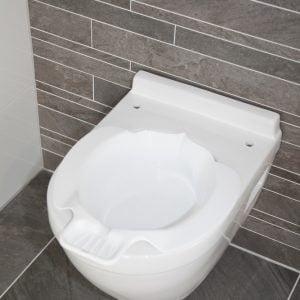 atlantis kunststof bidet past op bijna alle toiletten