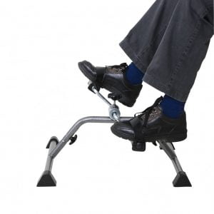 fietstrainer voor benen en armen, voorbeeld benen