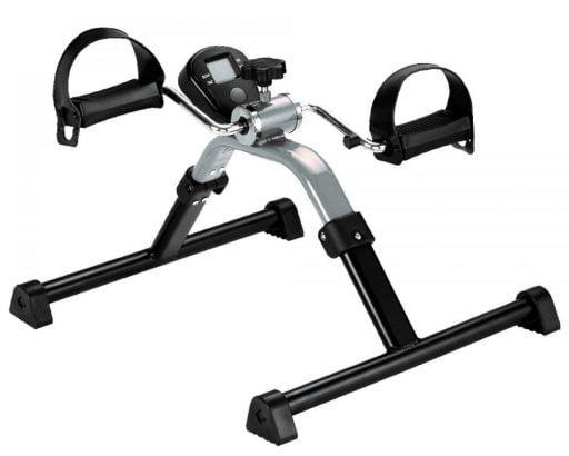 fietstrainer met display om de benen en de armen met de display