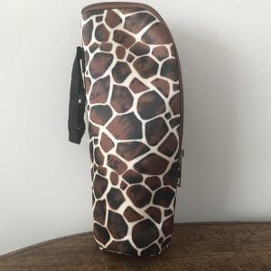 Fleswarmhouder Jolly in giraf print