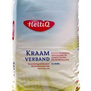 HeltiQ Kraamverband met speciale folielaag aan de onderzijde