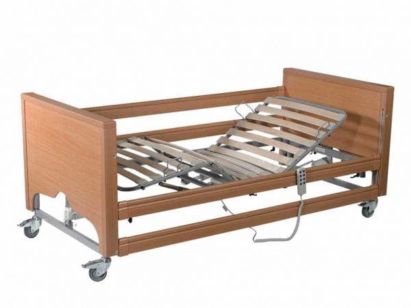 Hoog/laag bed Casa Med Classic FS compleet met zijhekken, houten lattenbodem en papegaai merk Drive