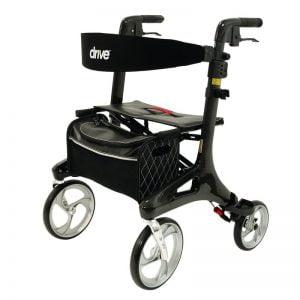 Rollator Nitro Carbon merk Drive 5,8 kg volledig