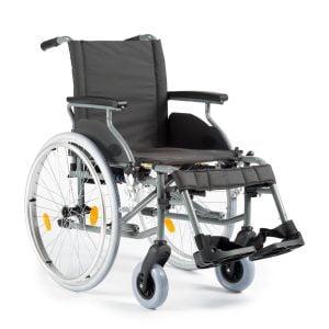 Multimotion lichtgewicht rolstoel M6 in kleur donkergrijs