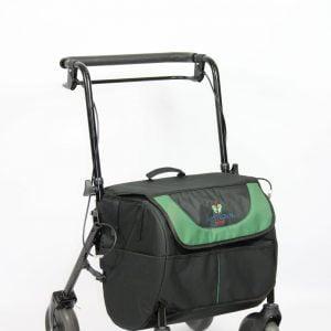 Shopiroll van het merk Herdegen met grote tas voor 25 kg boodschappen
