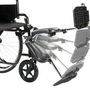 gipssteun voor rolstoel
