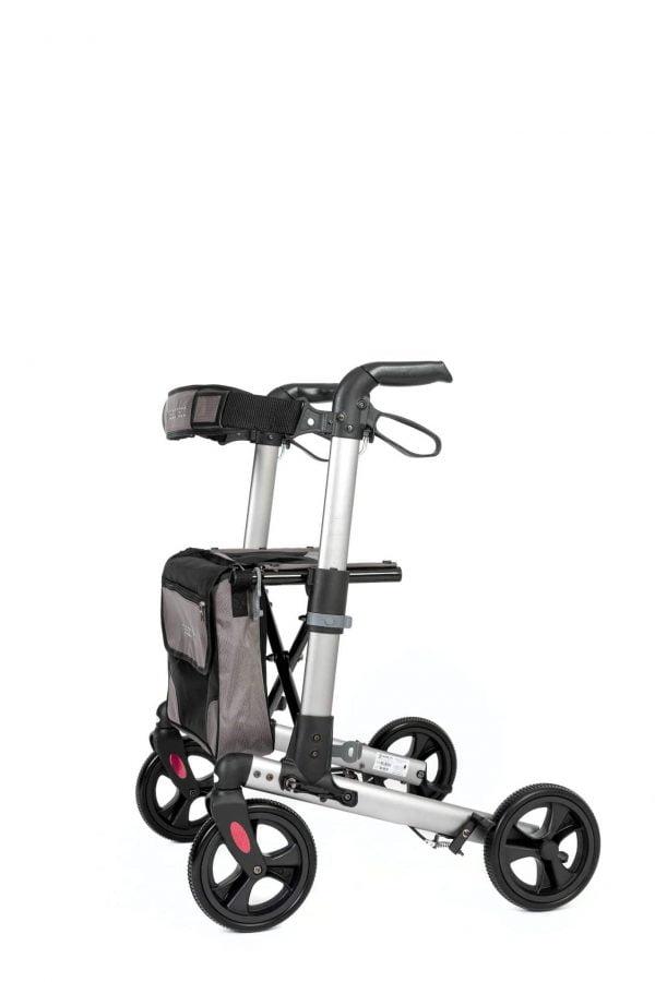 Track 4.0 merk wheelz-ahead lichtgewicht rollator dubbel inklapbaar kleur antraciet