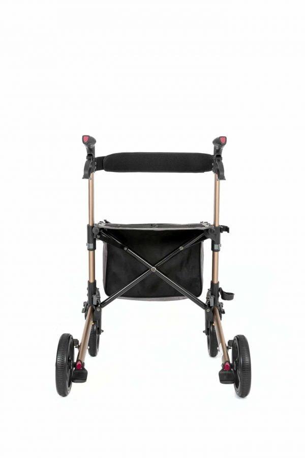 Track 4.0 merk wheelz-ahead lichtgewicht rollator dubbel inklapbaar achterkant
