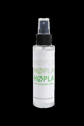 Hopla anti condens brillenspray, biologische afbreekbare spray dat het beslaan van brillenglazen