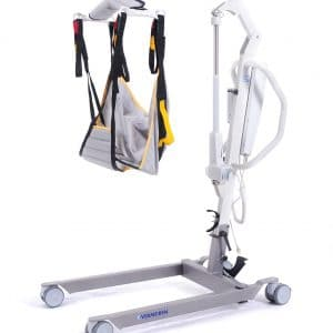 Tillift van het merk Vermeiren uitvoering Eagle 620 tot een gewicht van 150 kg met standaard band