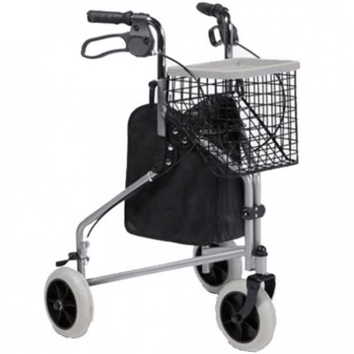 Driewiel rollator Delta van het merk Vermeiren